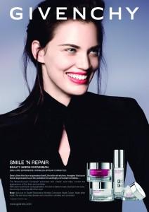 Visual publicitario de Givenchy