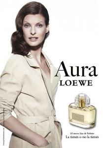Visual Aura Loewe con Linda Evangelista