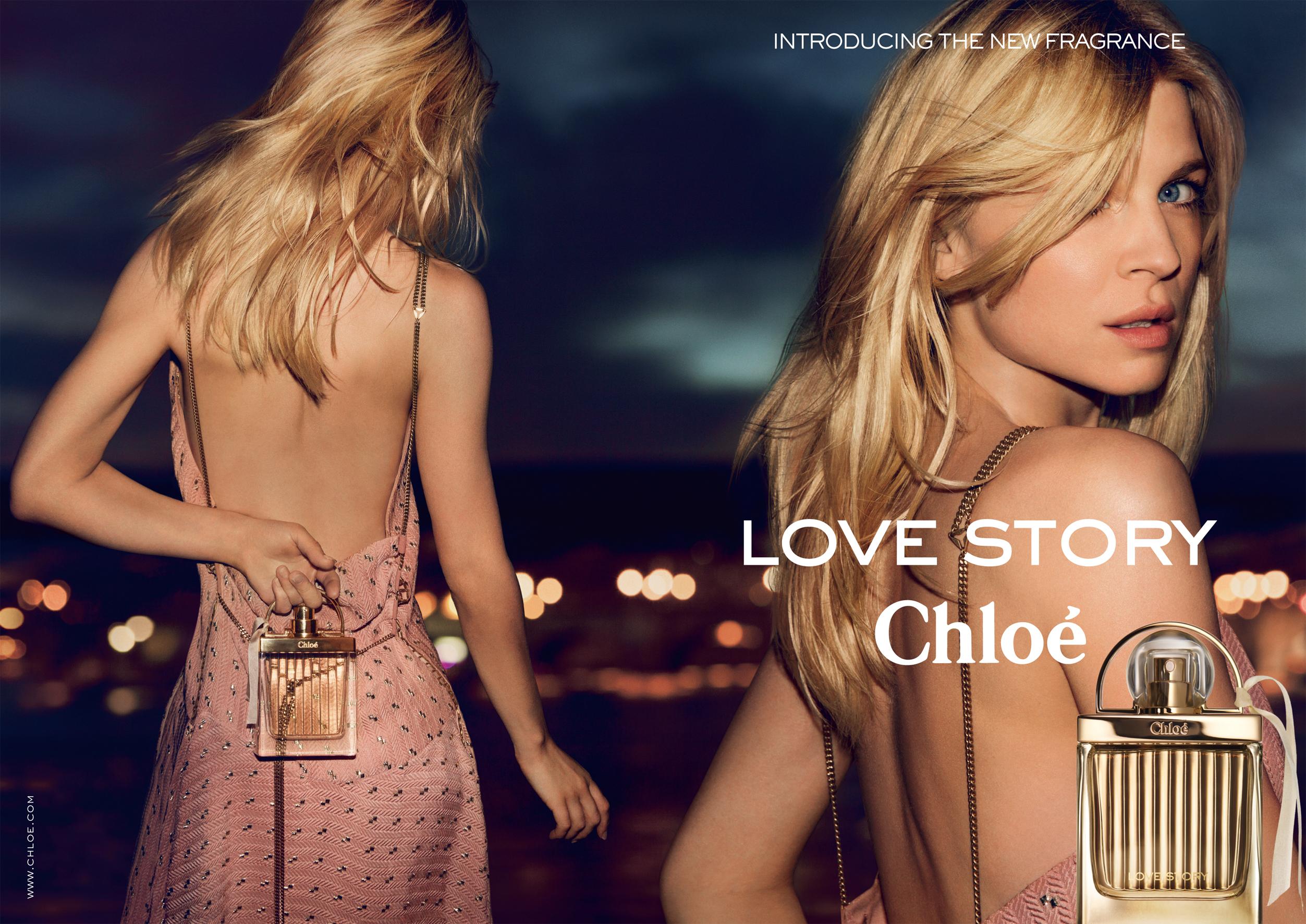 CHLOE LOVE STORY visual