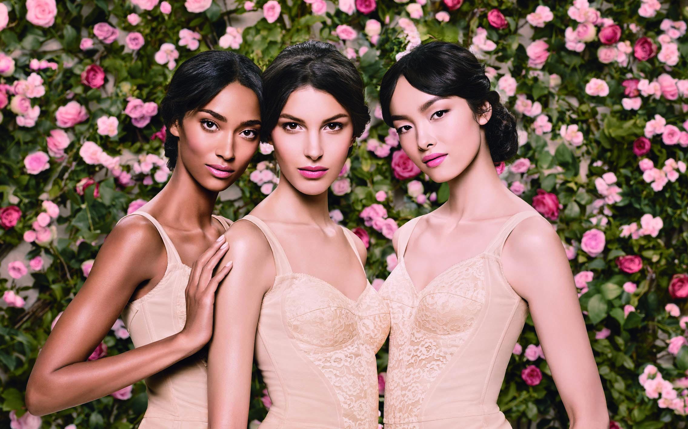 Visual publicitario de Dolce & Gabbana Skincare, la primera línea de cuidado facial de la marca