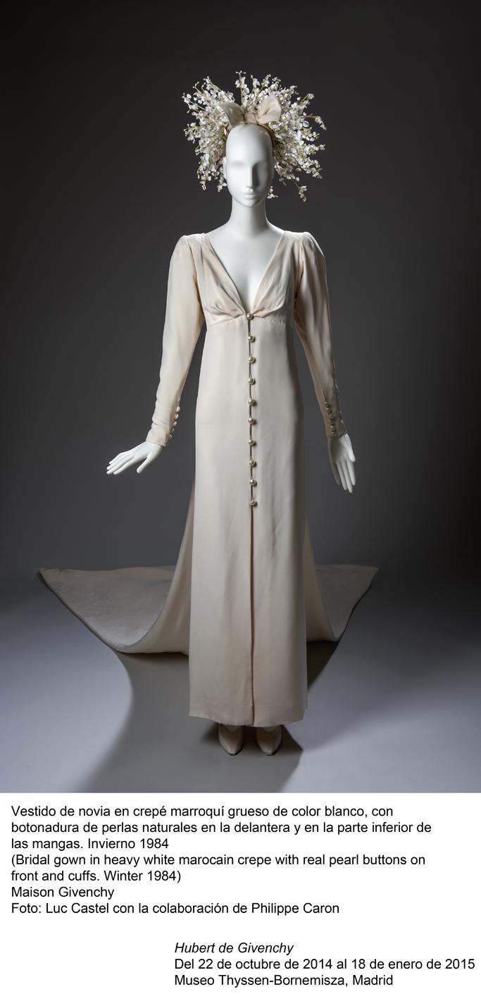 Vestido de novia, de Givenchy