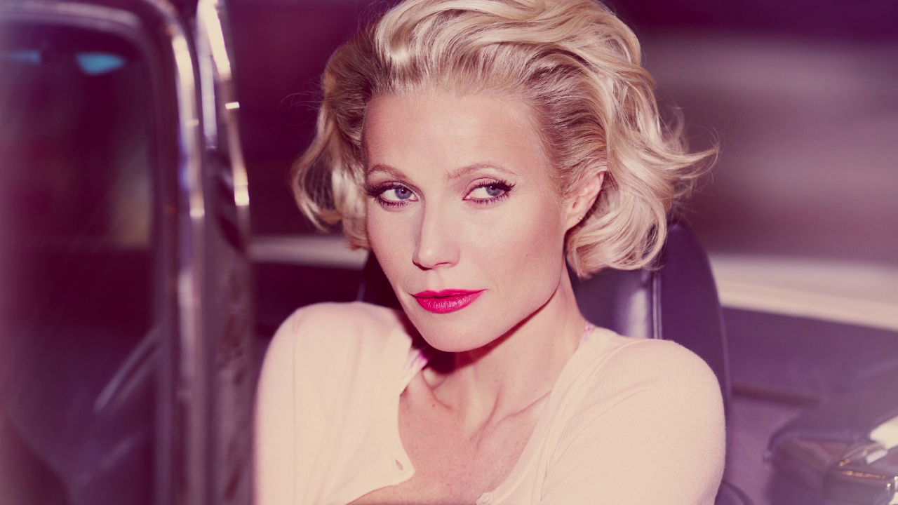 Max Factor, Gwyneth Paltrow comoMarylin Monroe