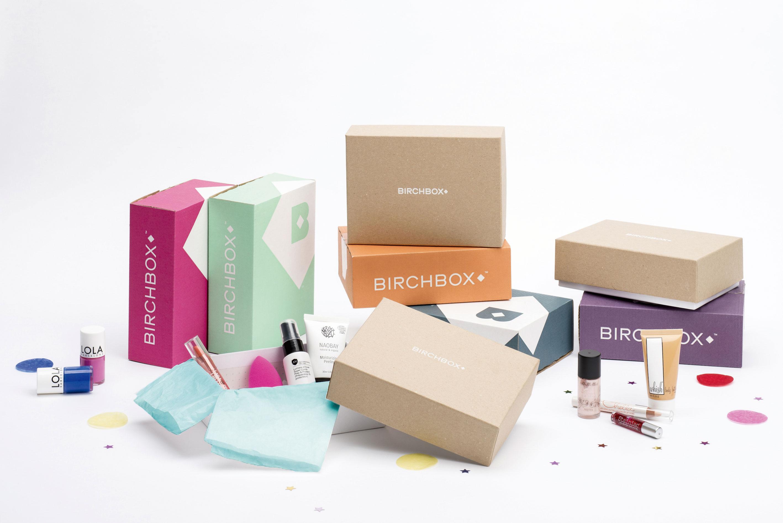 Bodegón de Birchbox.