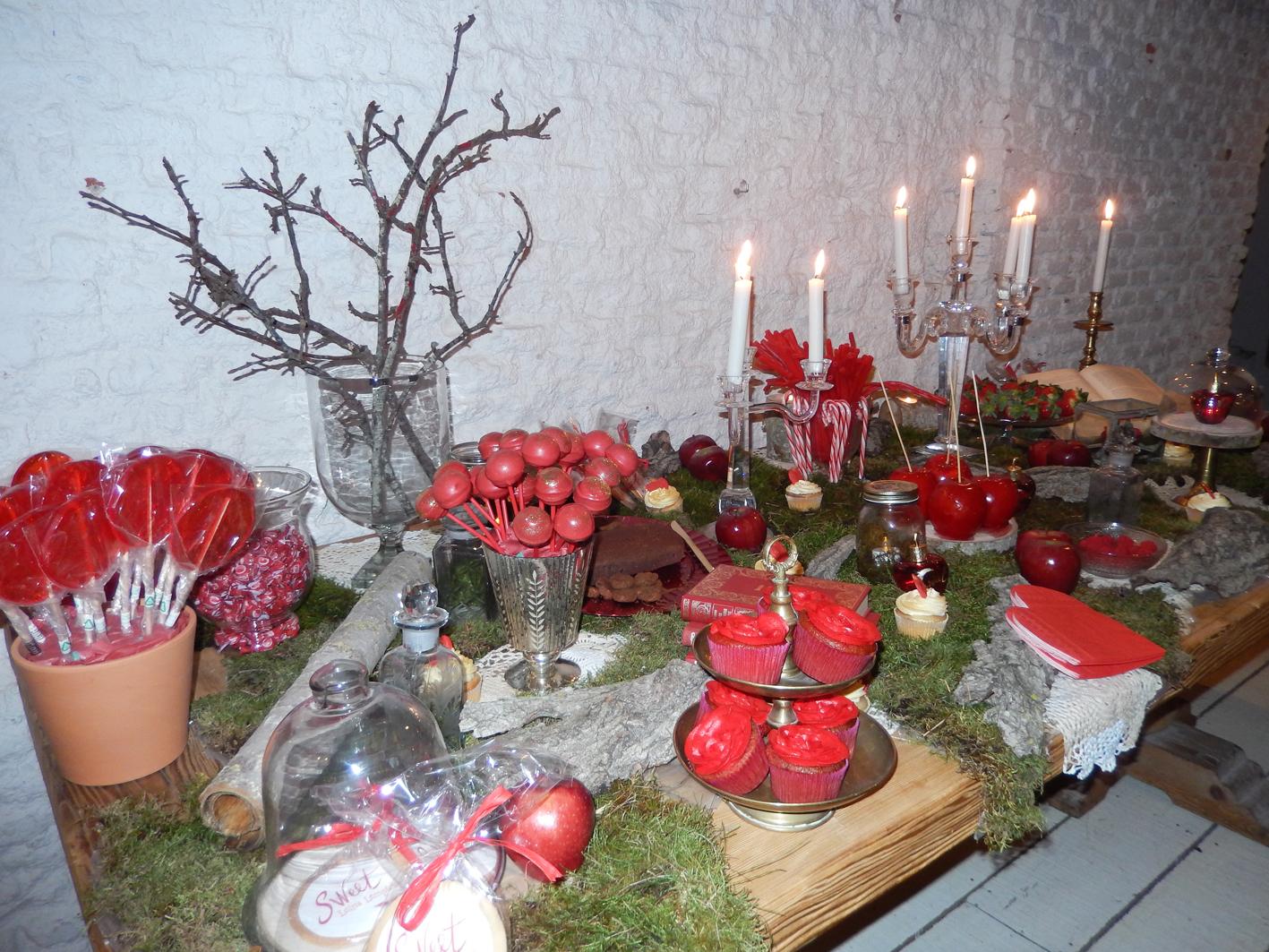 Detalle de la decoración de la presentación de Lolita Lempicka.