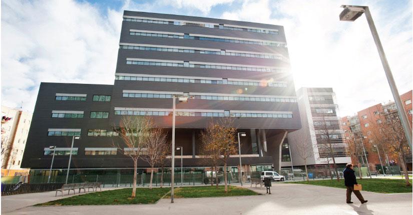 Edificio de la nueva sede de Henkel Ibérica, en Barcelona.