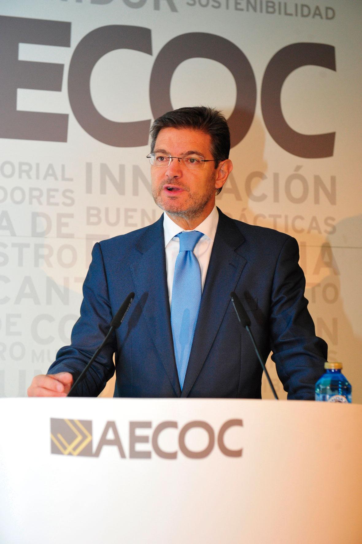 Ministro de Justicia, Rafael Catalá.