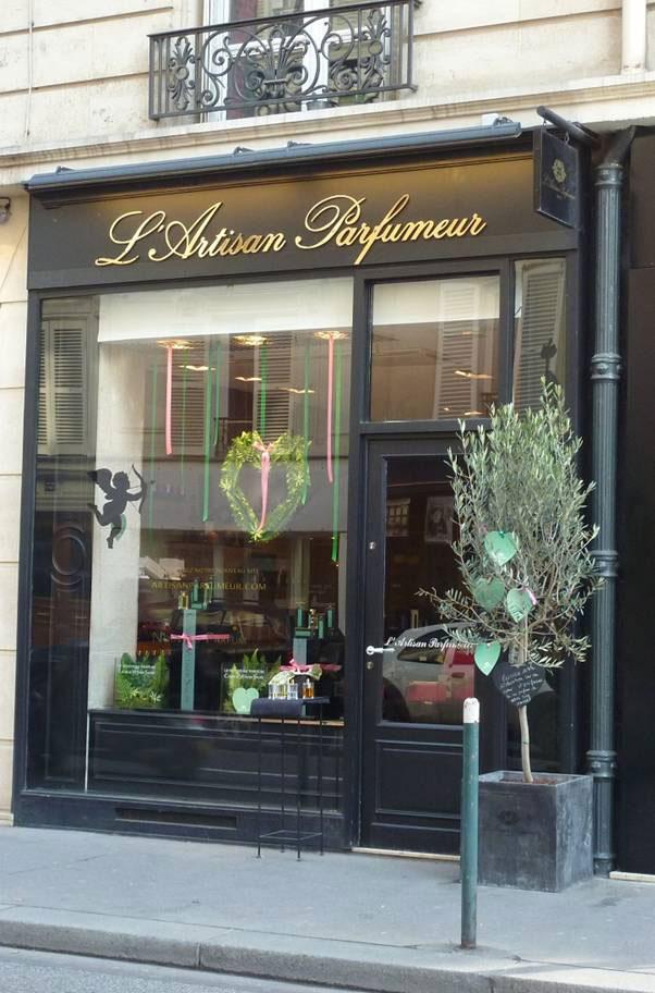 Una de las tiendas de L'Artisan Parfumeur en París.