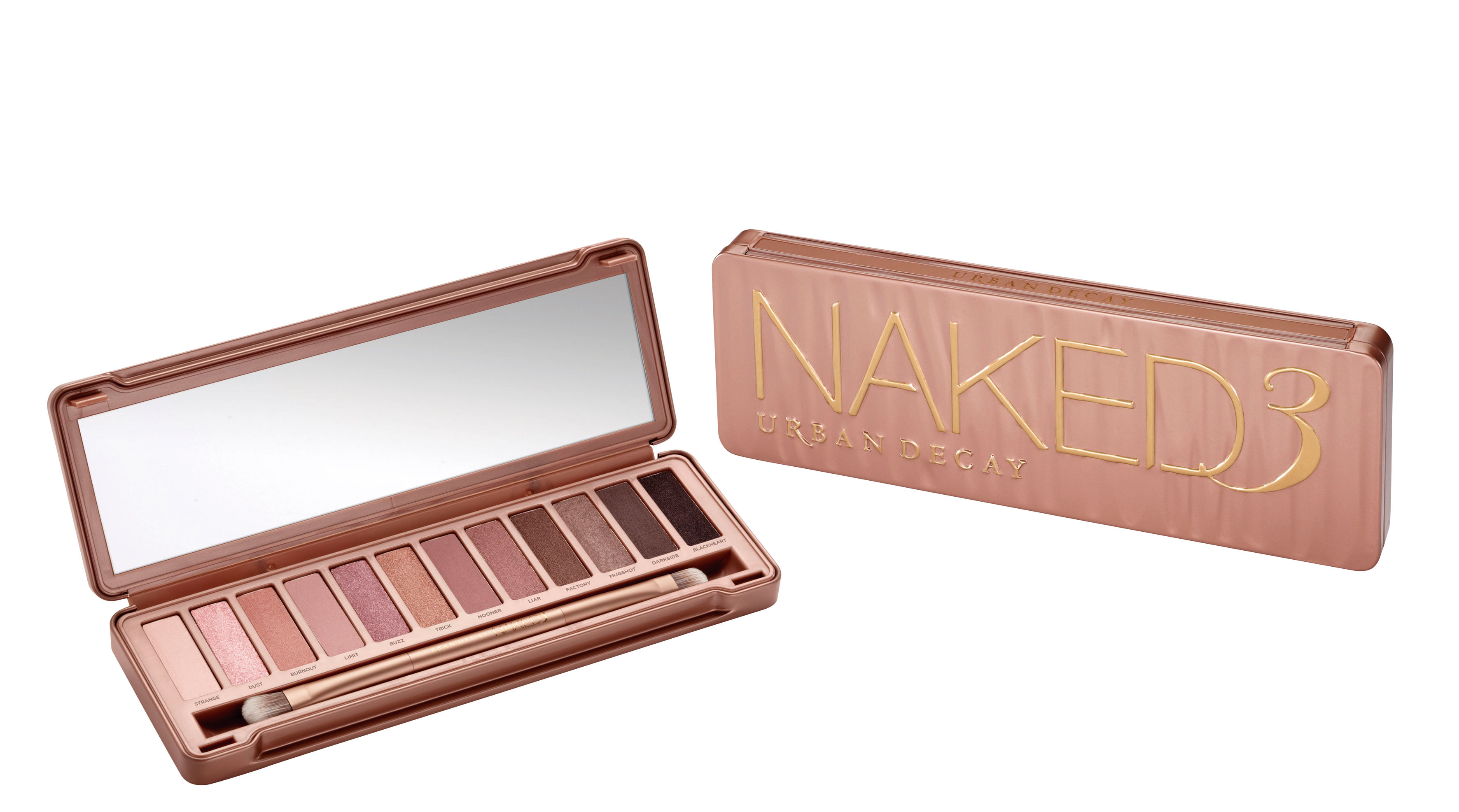 Naked Palette3, de Urban Decay.