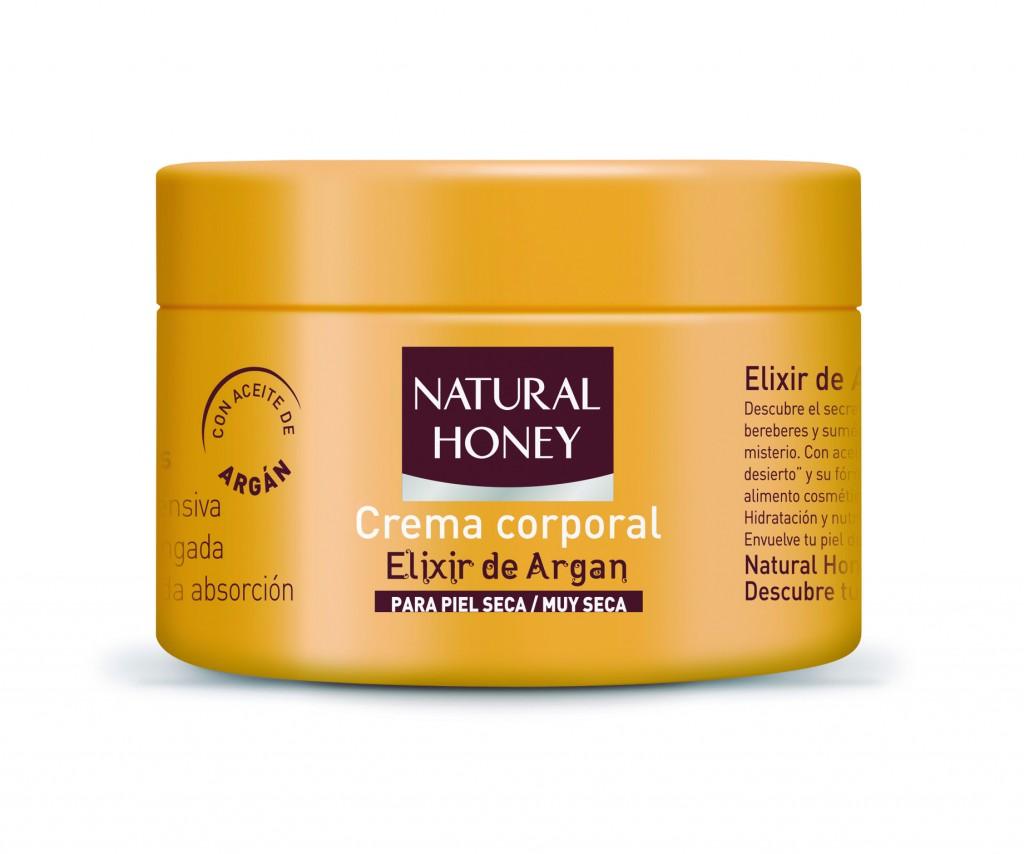 Natural Honey Crema Pieles Secas Elixir de Argán