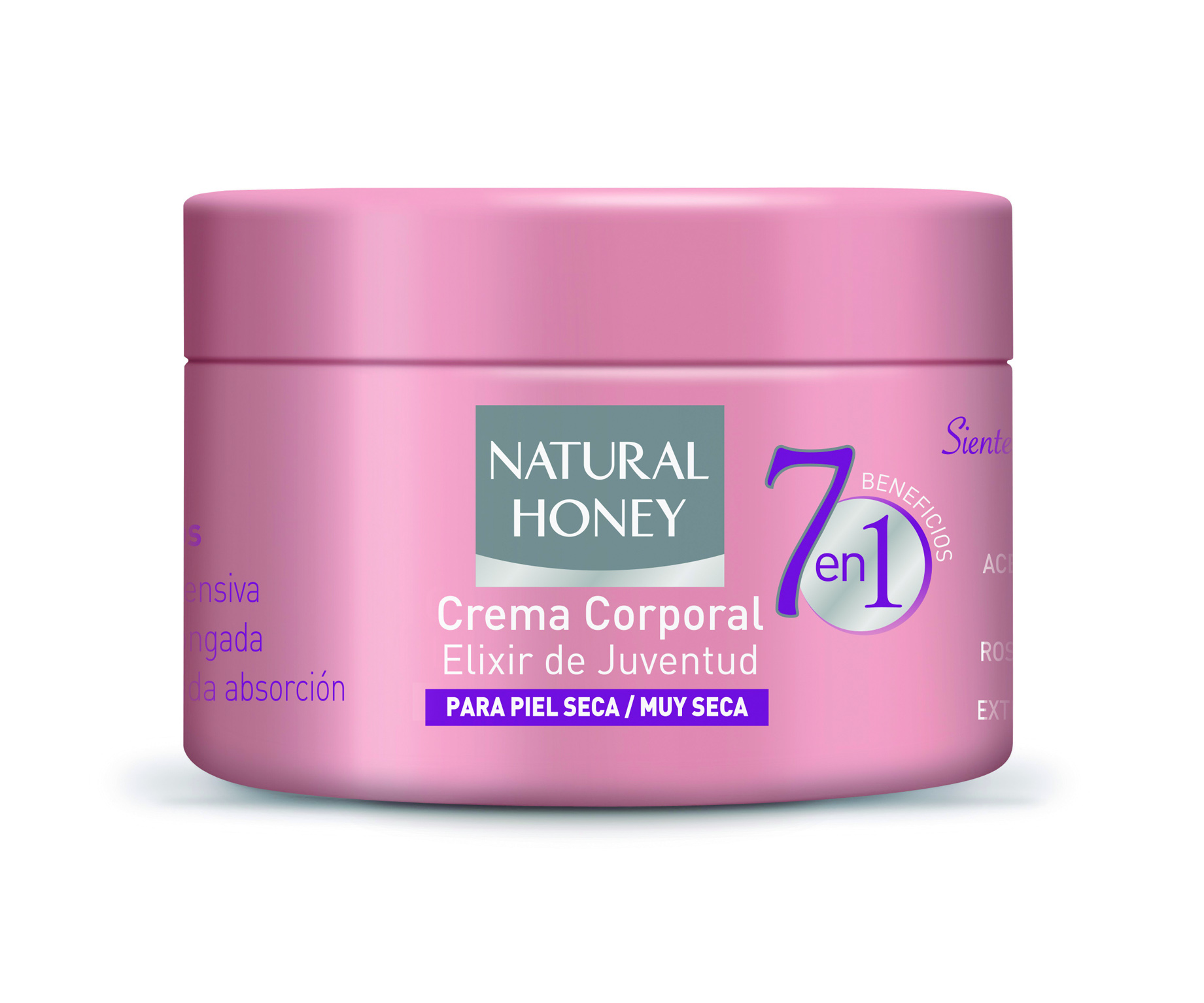 Natural Honey Crema Pieles secas 7 Beneficios