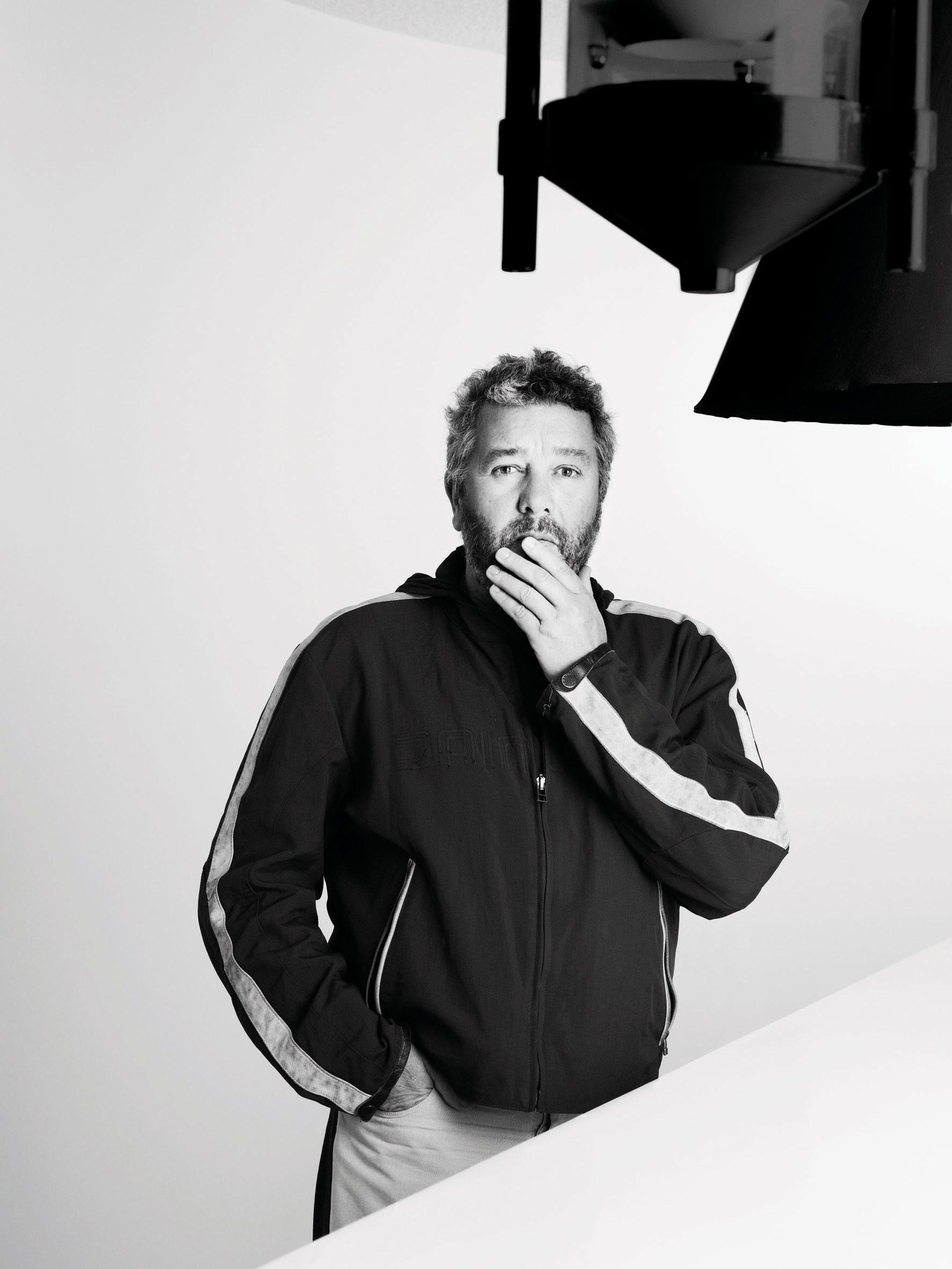 Philippe Starck, por Nicolas Guerin.