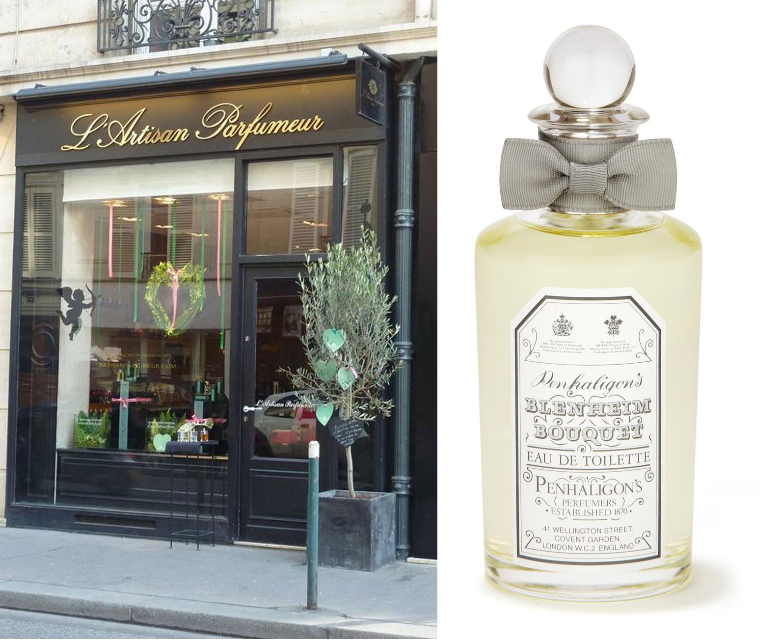 L'Artisan Parfumeur y Penhaligon's.