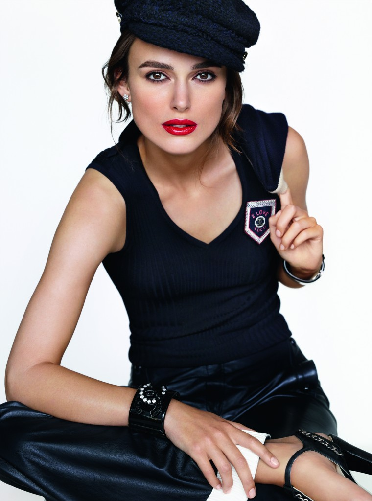 Rouge Coco Chanel, Keira Knightley