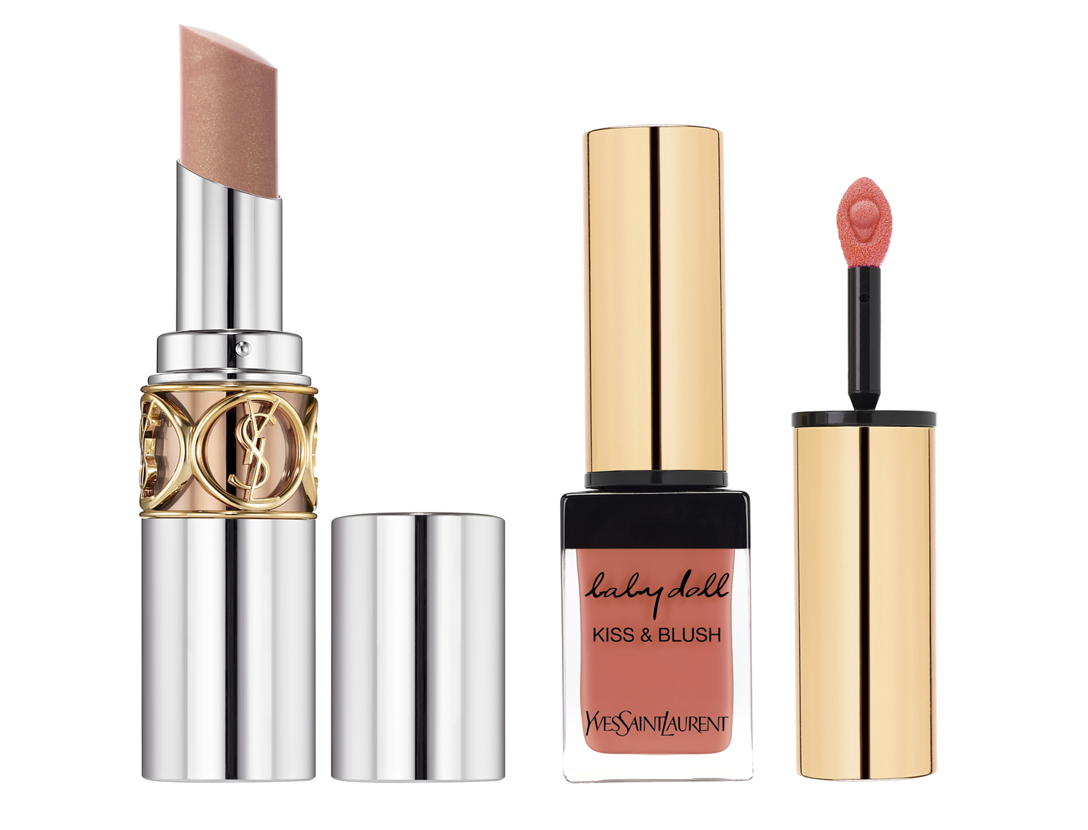 YSL Jessica Chastain maquillaje de labios