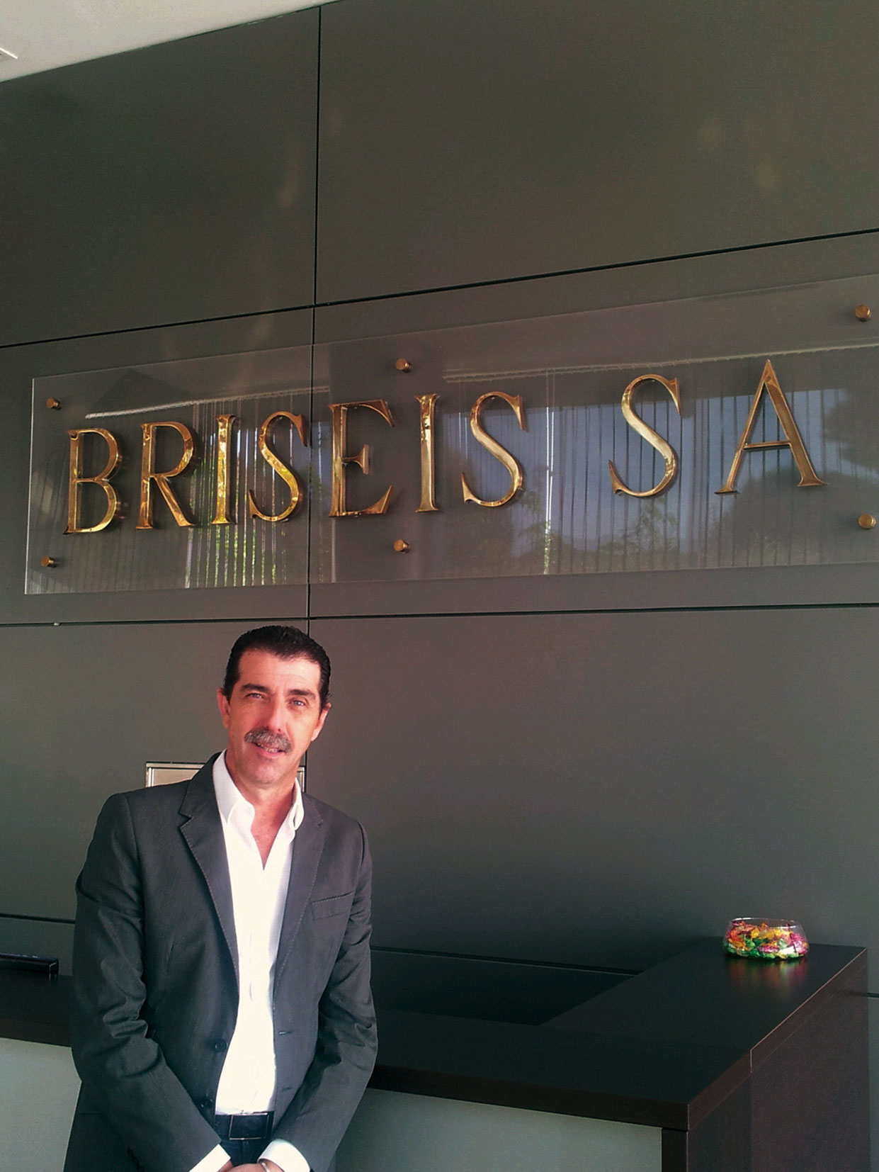 Carlos Briseis, gerente de Briseis.