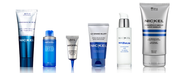 Nickel, marca especializada en cosmética masculina.