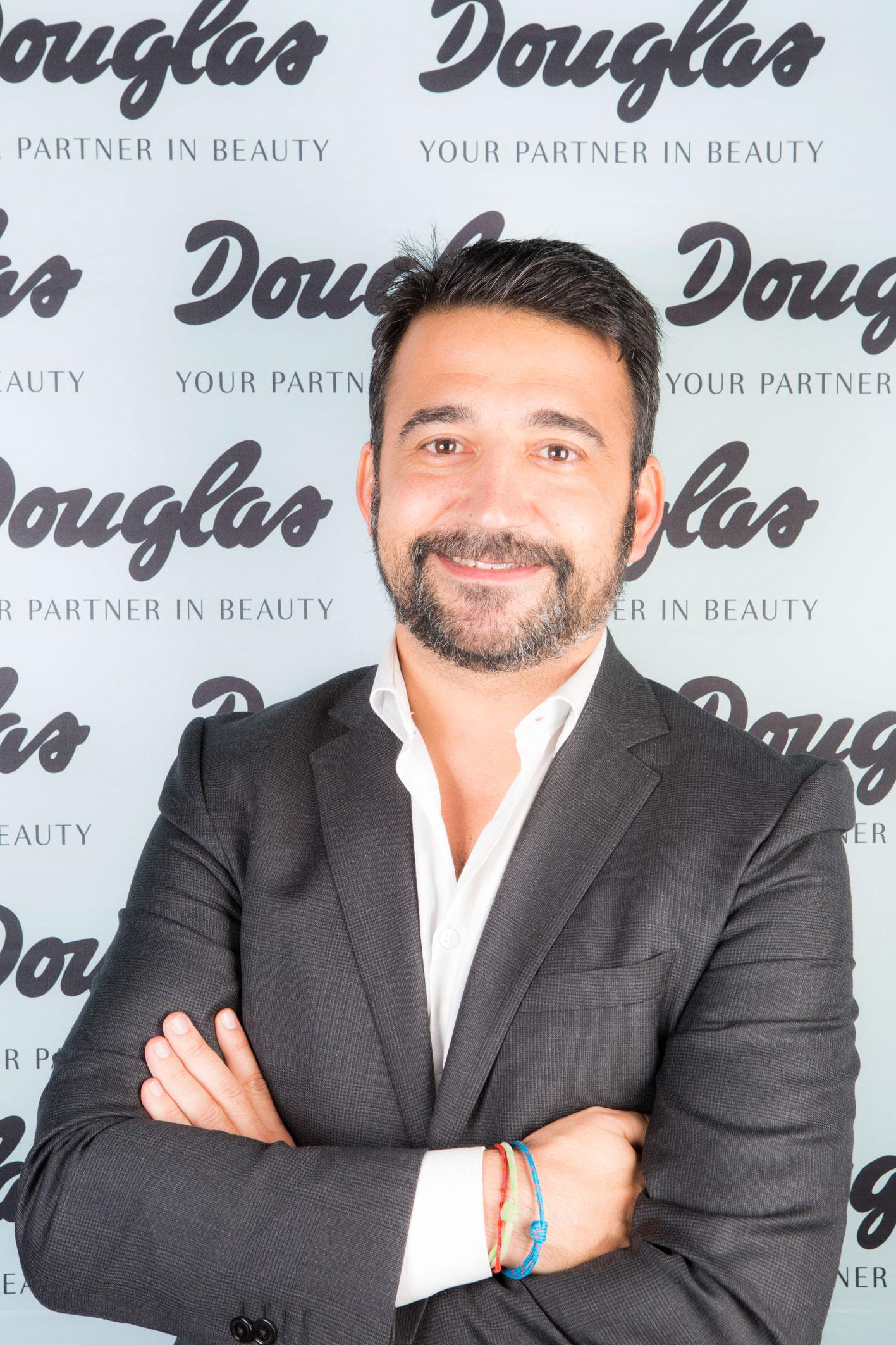 Antonio Rodríguez de la Paz, flamante director de compras y marketing de Douglas.