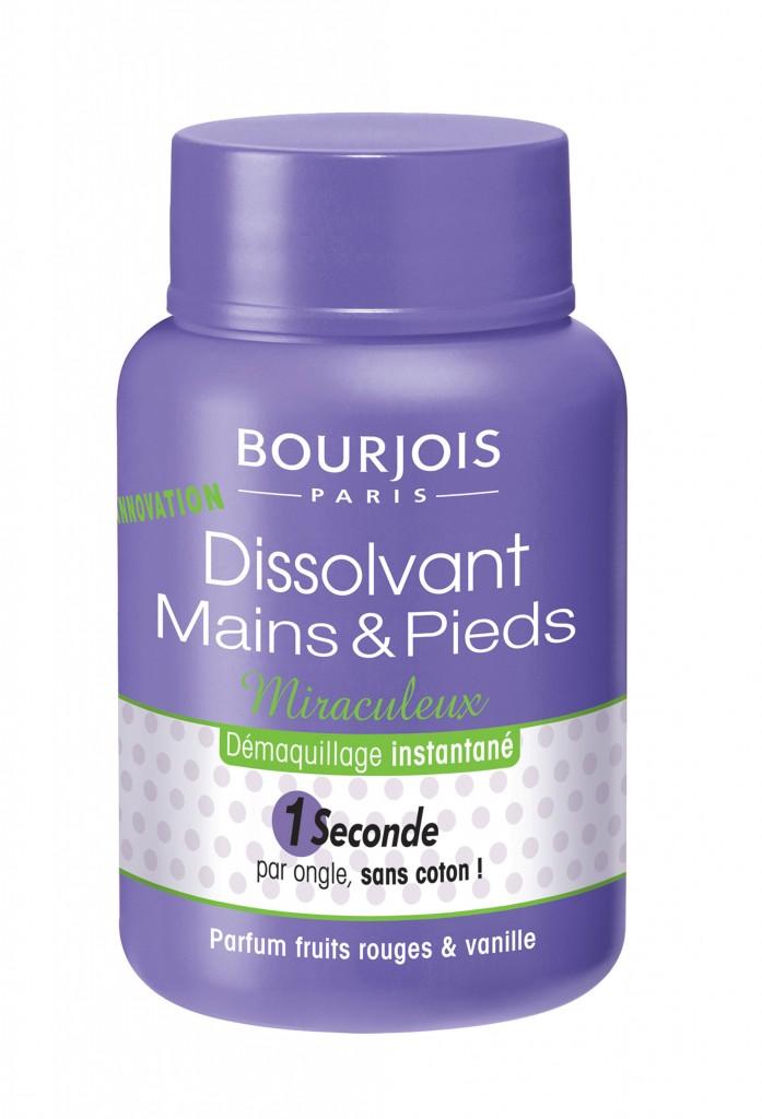 Dissolvant Mains et Pieds Miraculleux (PVPR 9,50 €).