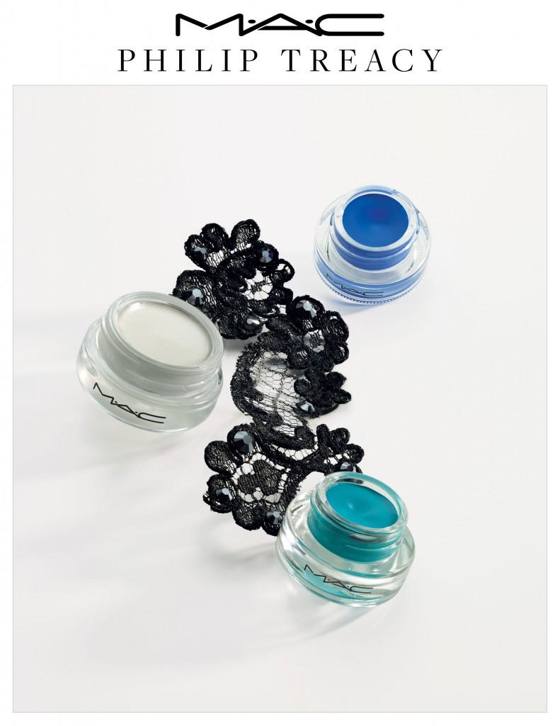 MAC Philip Treacy. Fluidline (19 €) y Pro Longwear Paint Pots (20 €).
