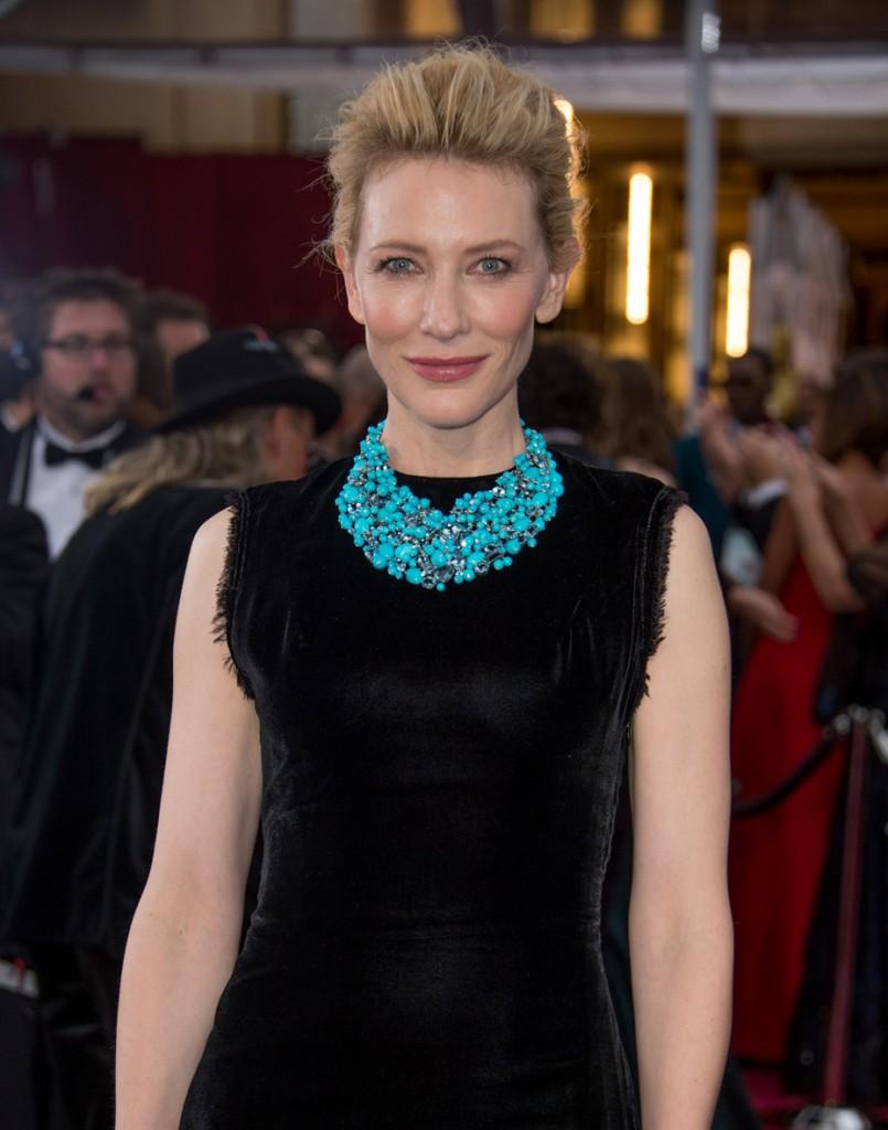 Cate Blanchett en los Óscar 2015.
