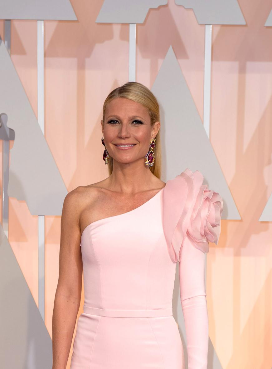 Gwyneth Paltrow en los Óscar 2015.