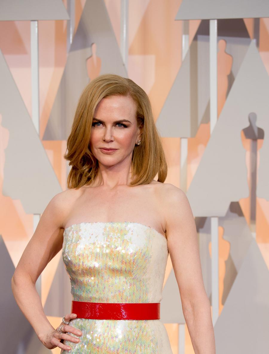 Nicole Kidman en los Óscars 2015.