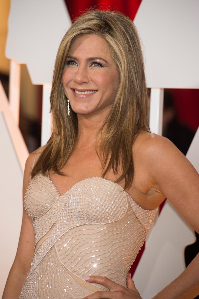 Jennifer Aniston en los Óscars 2015.