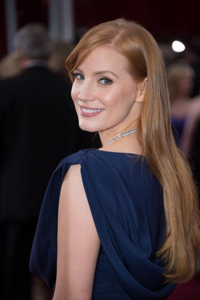 Jessica Chastain en los Óscar 2015.