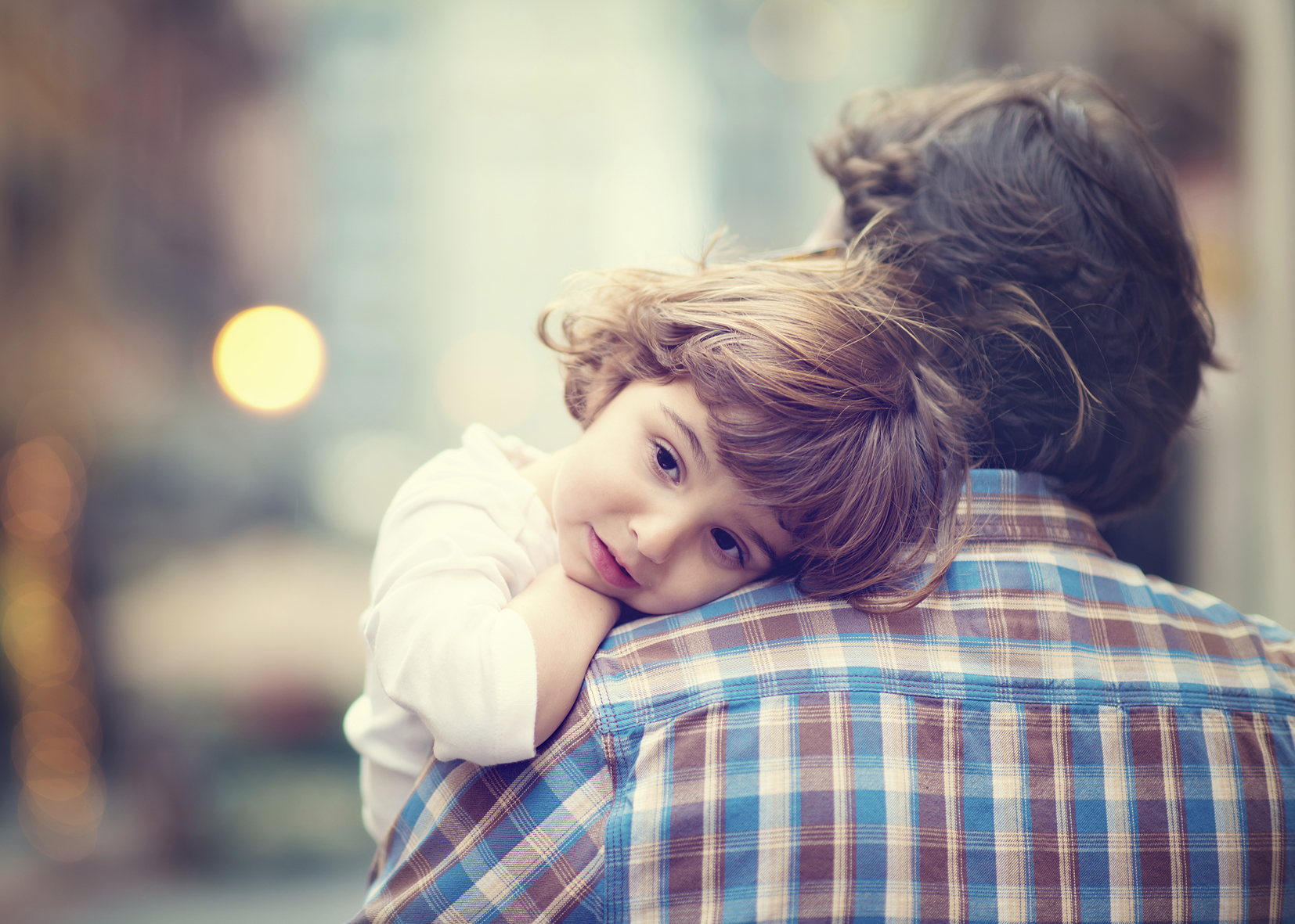 Foto padre e hijo