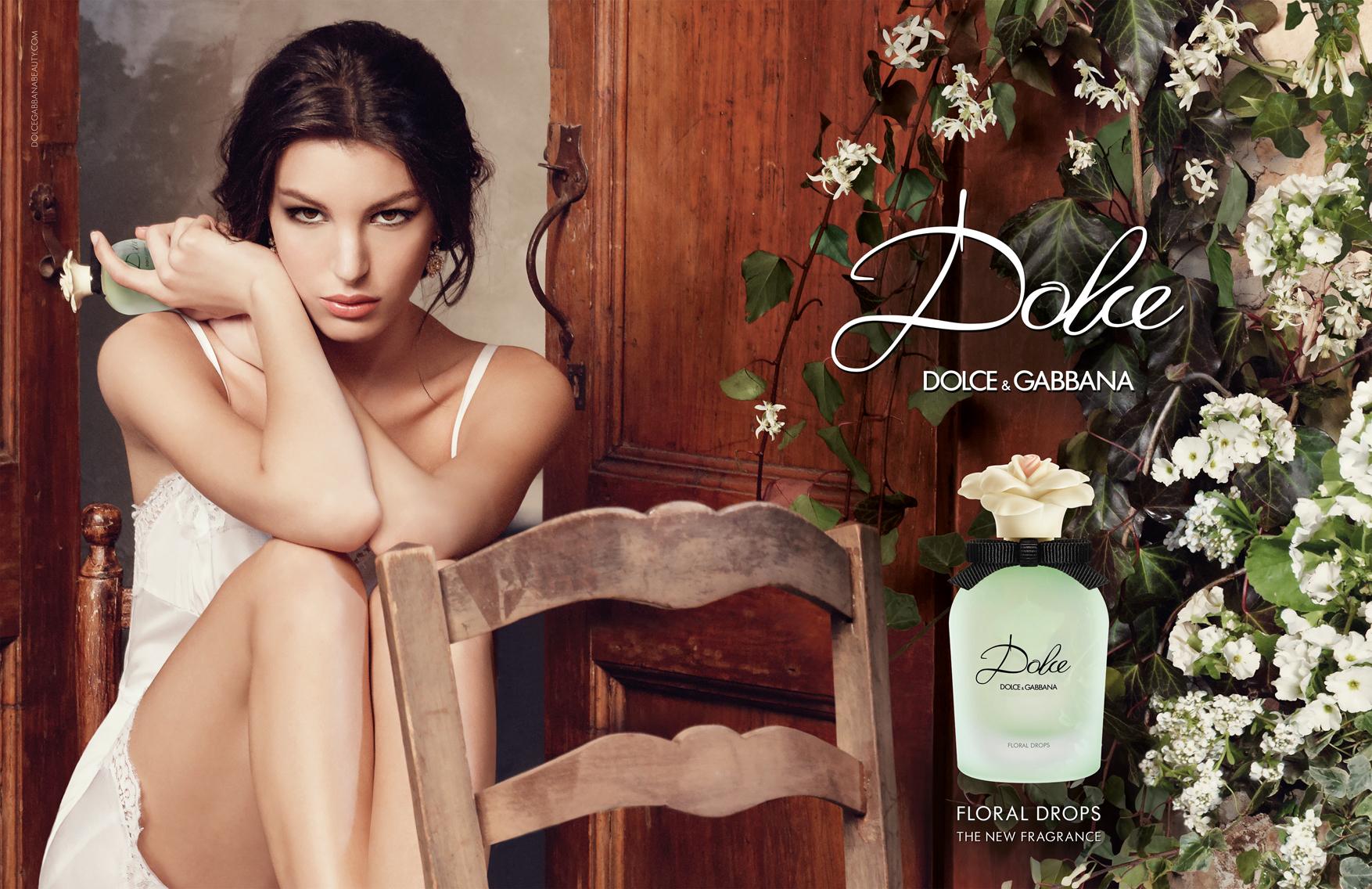 Dolce Floral Drops Visual publicitario