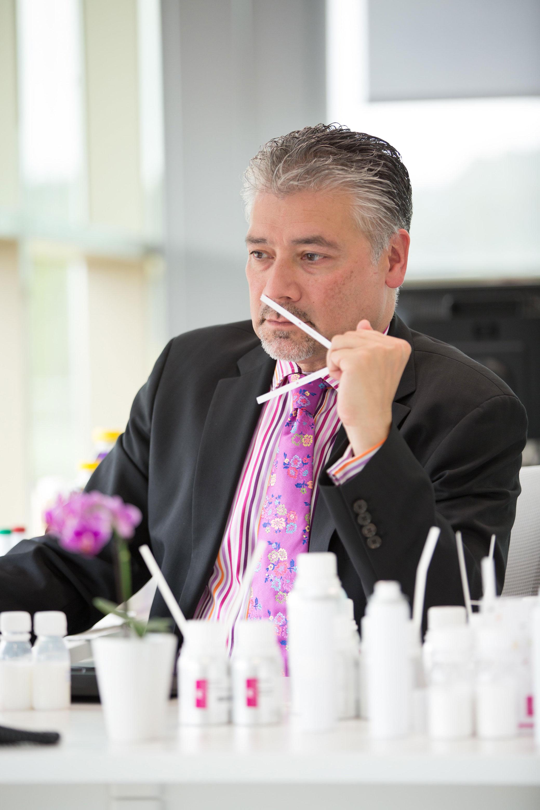 Henry van den Heuvel, director creativo global de Eurofragance.