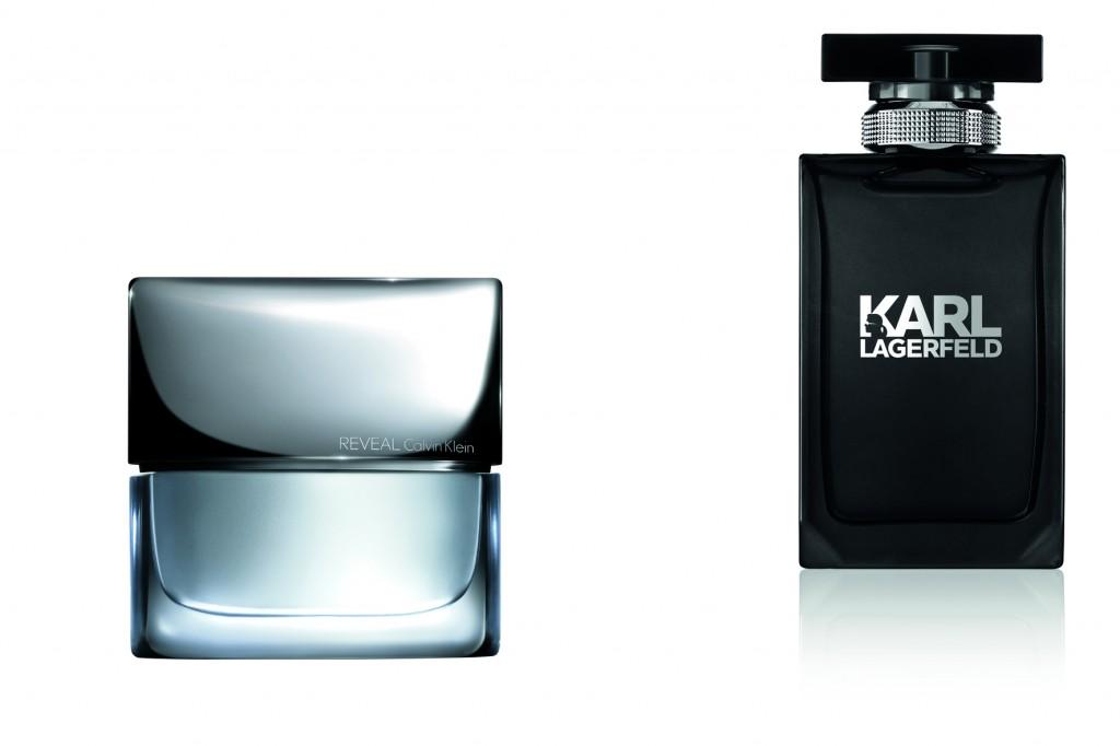 Reveal, de Calvin Klein, y Karl Lagerfeld.