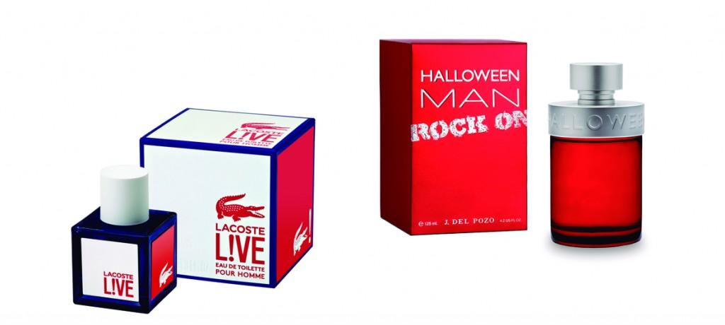 Lacoste L!ve y Halloween Man Rock On.
