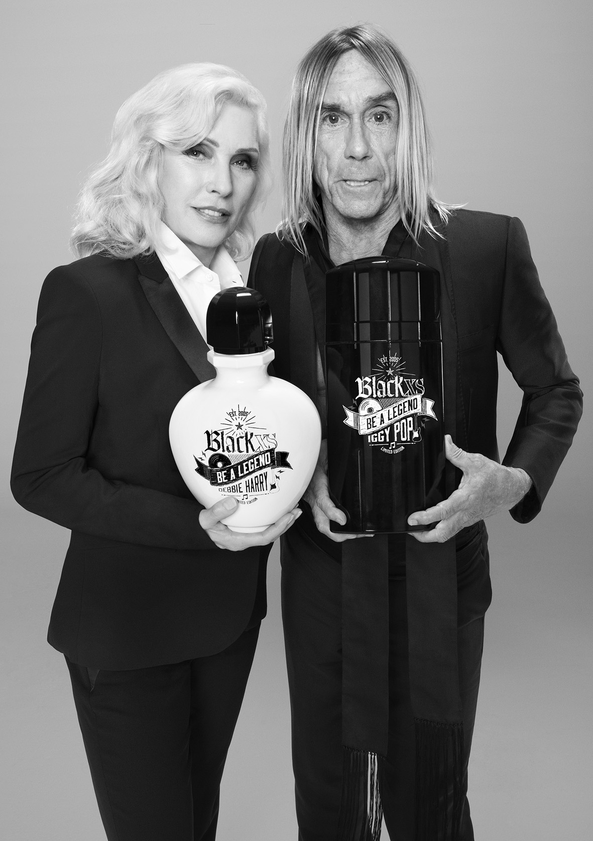 PR_BLACK XS_BE A LEGEND_IGGY POP & DEBBIE HARRY_1