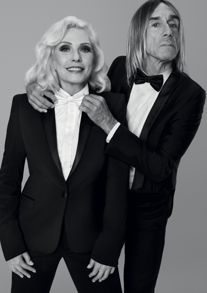 Black XS be a Legend, Paco Rabanne, Debbie Harry e Iggy Pop