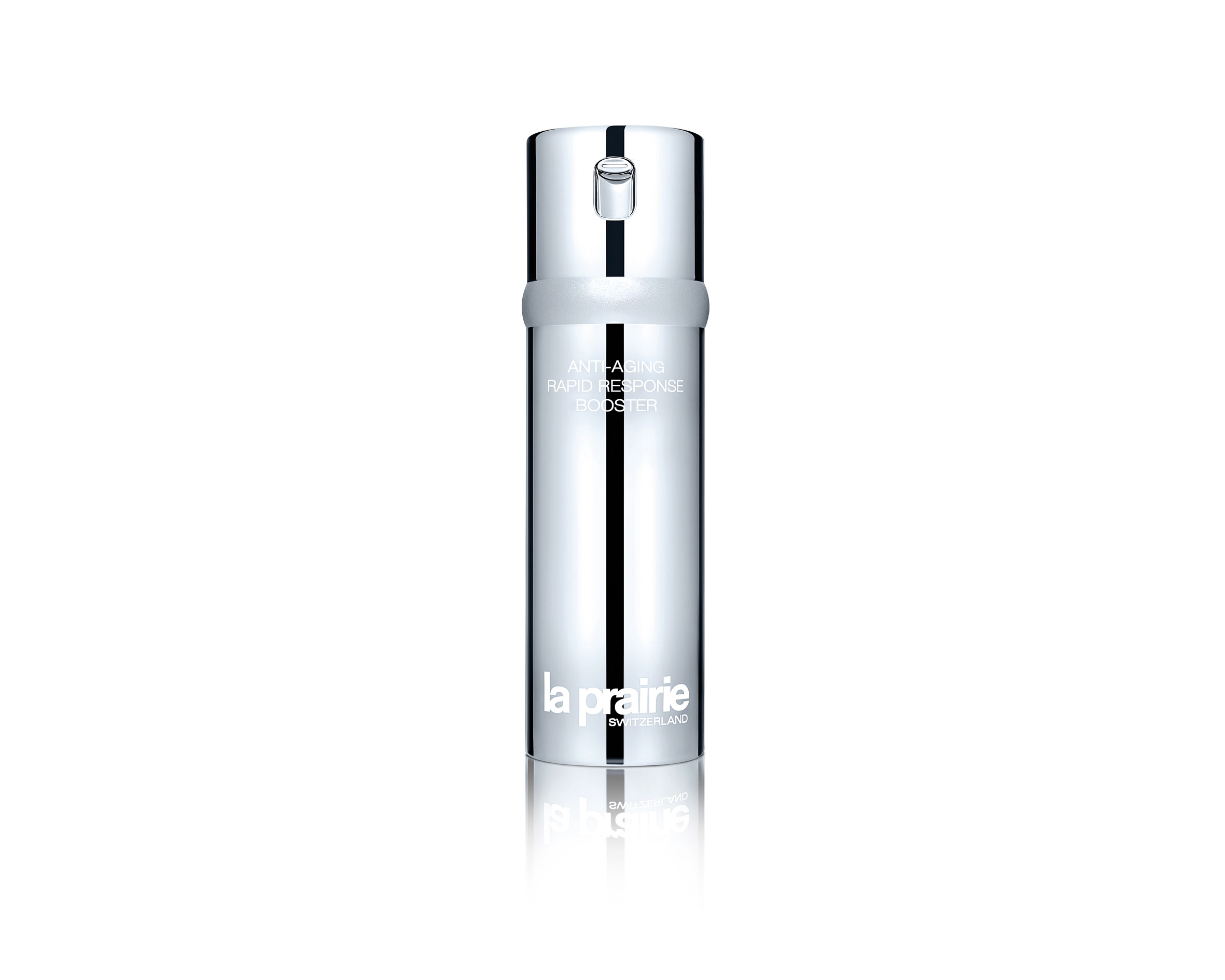 La Prairie Anti-Aging Rapid Response Booster (50 ml, PVPR 249 €).