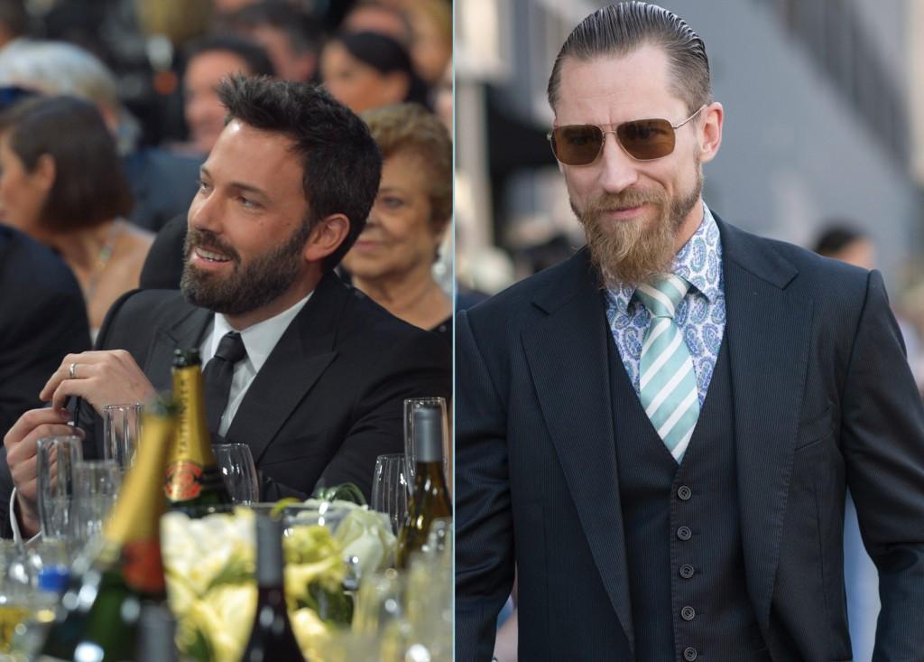 Barbas de éxito: primero fue la barba y después el Óscar para Ben Affleck. La de Justin O'Shea, cazatendencias y director de compras de MyTheresa ha creado escuela.