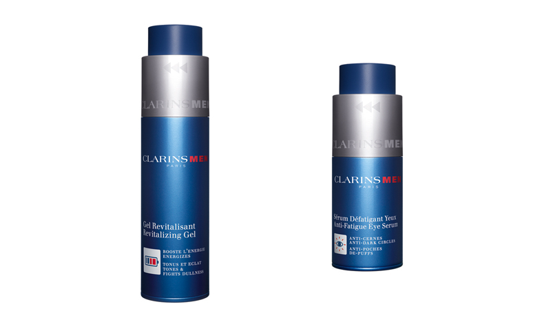 Sérum Défatigant Yeux y Gel Revitalisant, Clarins Men