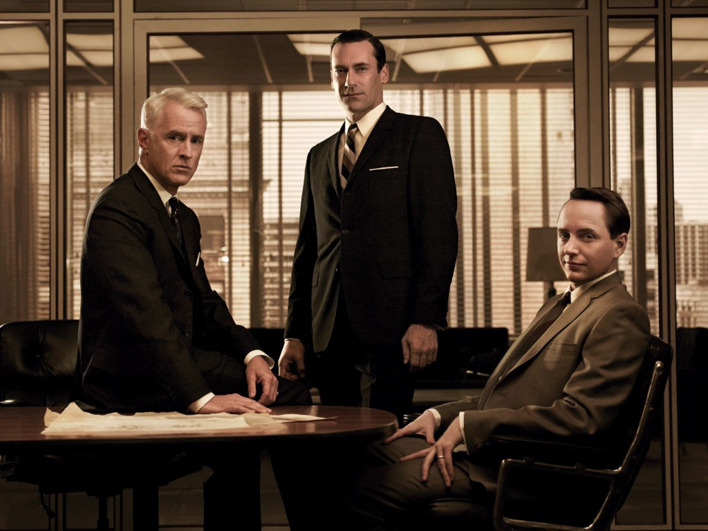 El elenco masculino de Mad Men crea tendencia con sus estilismos old school.