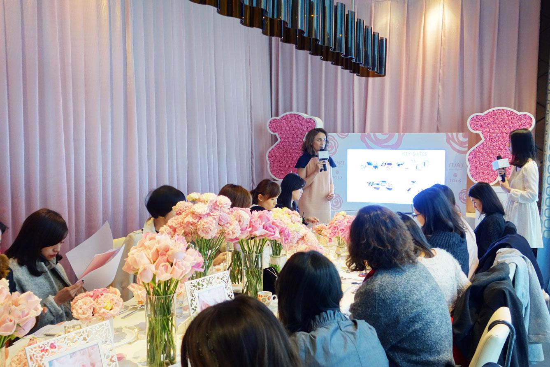 Perfumes y Diseño con la prensa asiática.