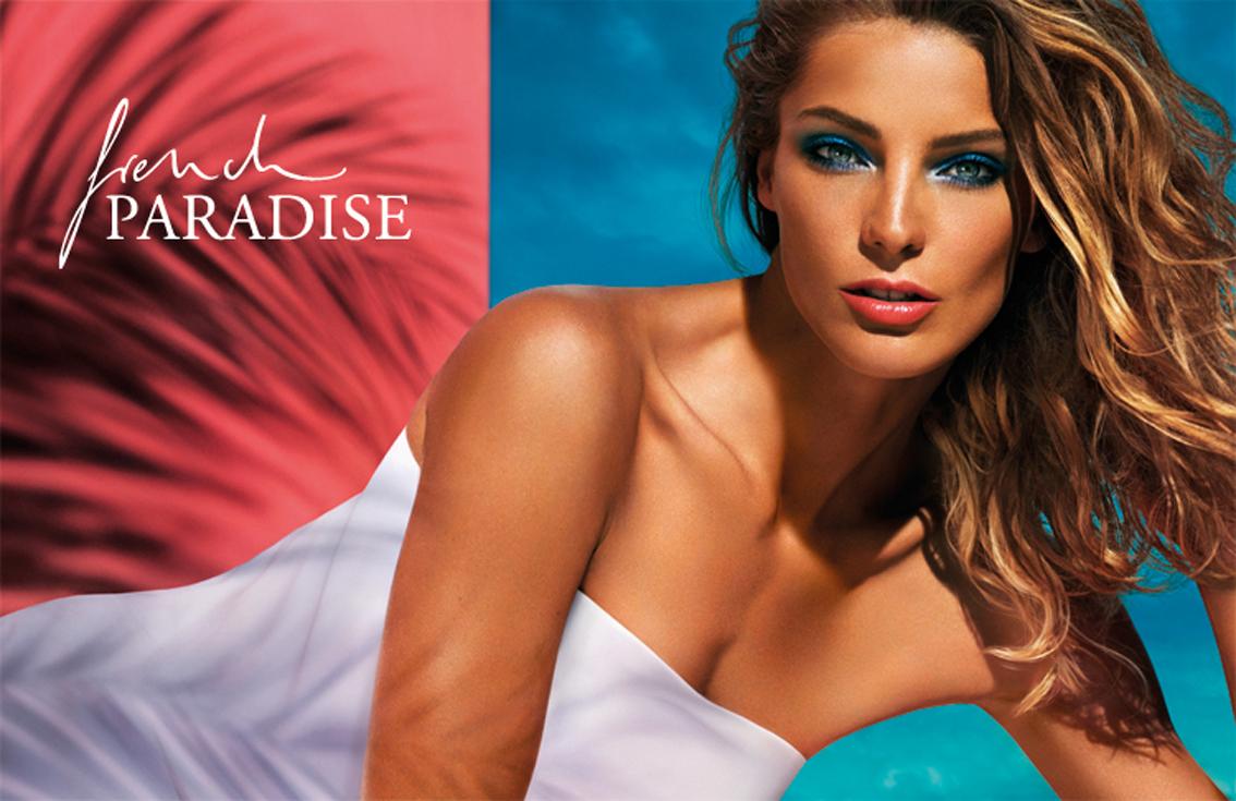French Paradise, visual publicitario look de verano de Lancôme
