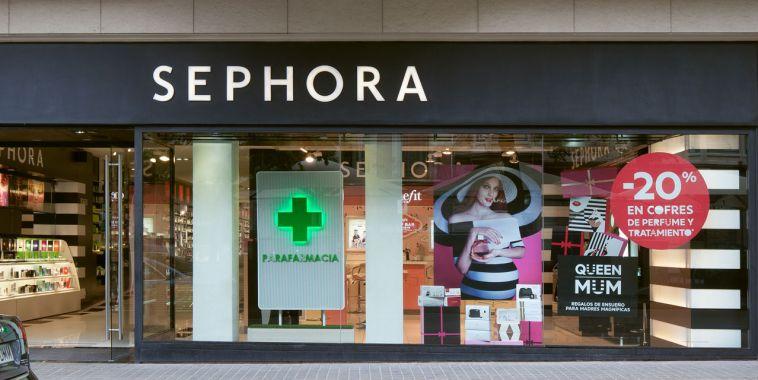 La perfumería Sephora de Rambla (Barcelona) con nueva sección de parafarmacia.