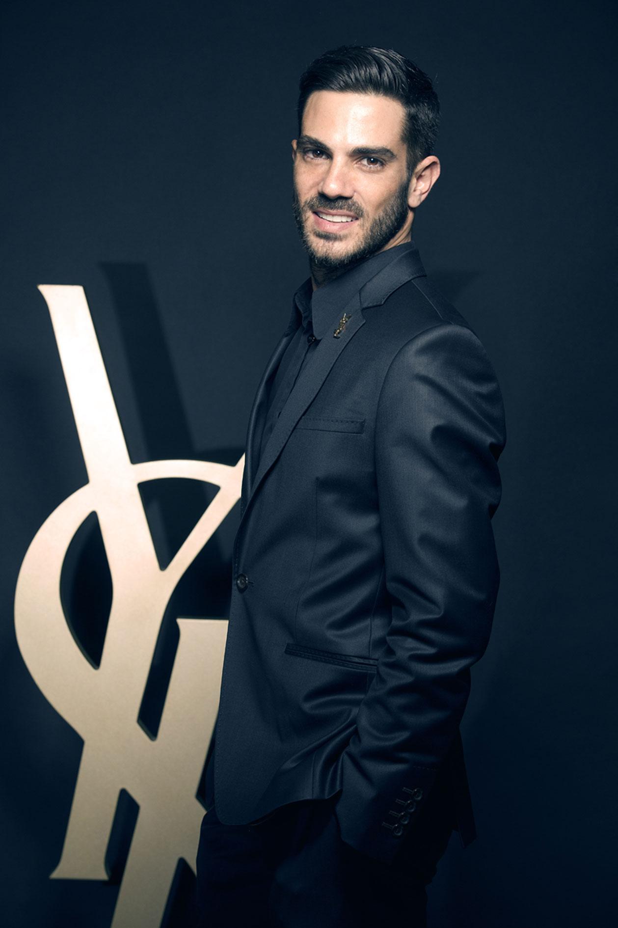 Yosuah Barea, maquillador de YSL Beauté para España.