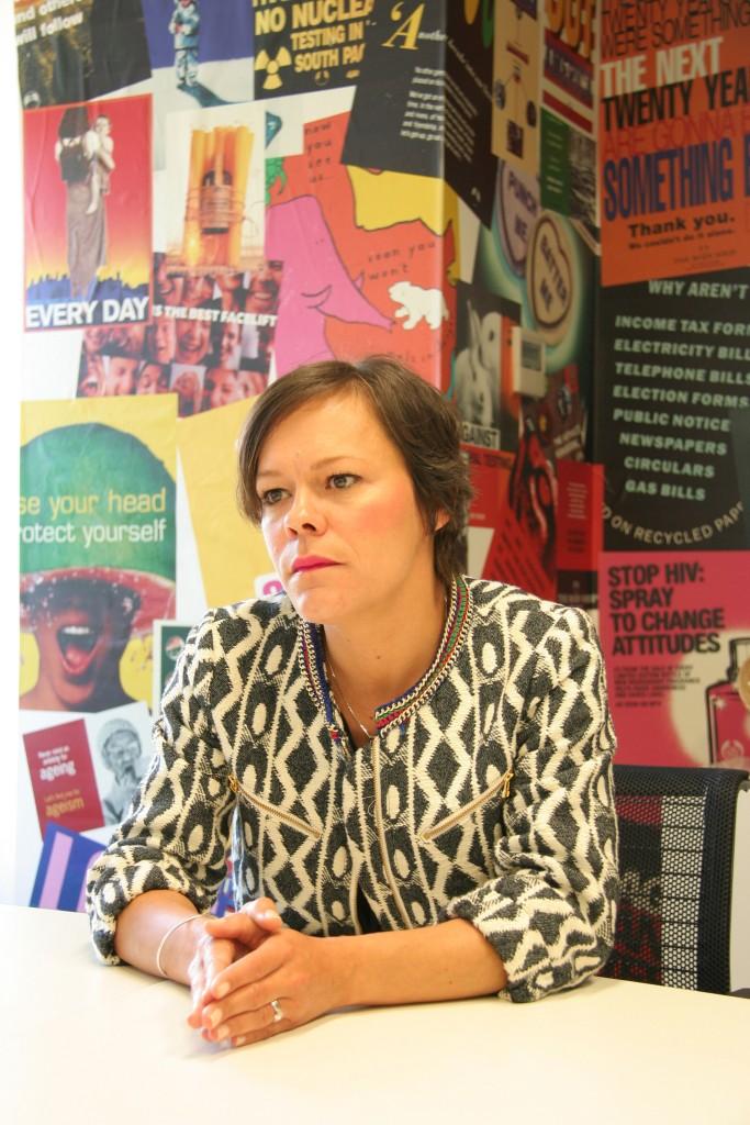 Anne Delmas, The Body Shop.