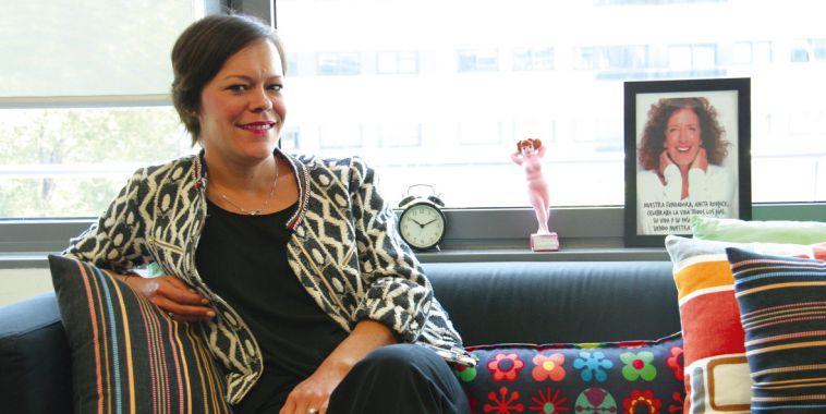 Anne Delmas, directora de The Body Shop España.