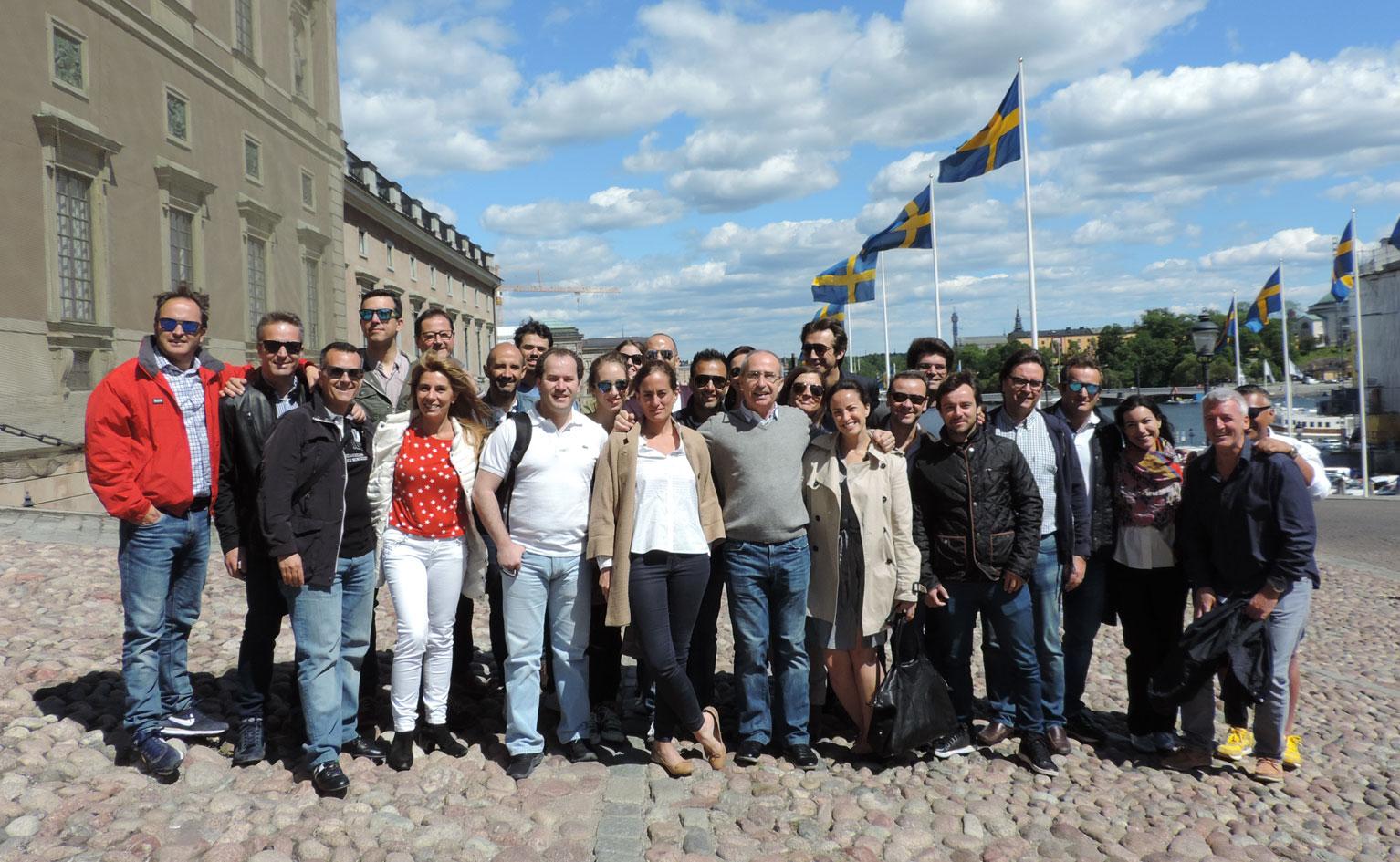 6º Convención Persé en Estocolmo.