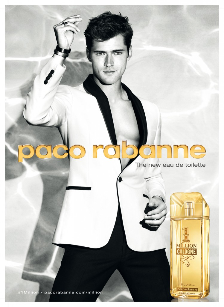 Visutal publicitario de 1 Million Cologne, Paco Rabanne.