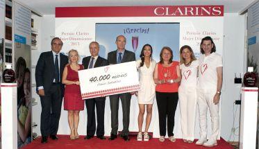 Premio Clarins Mujer Dinamizante 2015