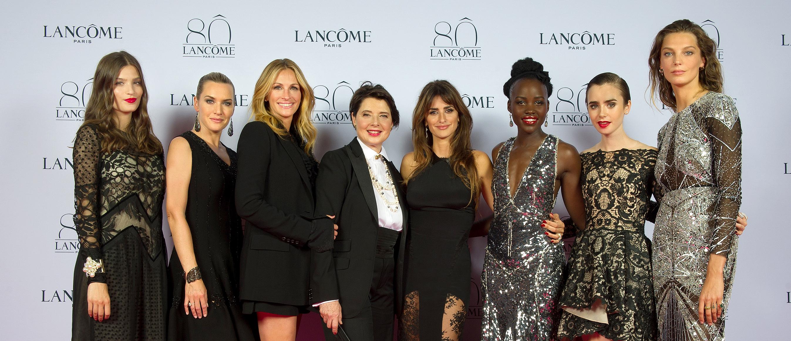 Embajadoras fiesta 80 aniversario Lancôme
