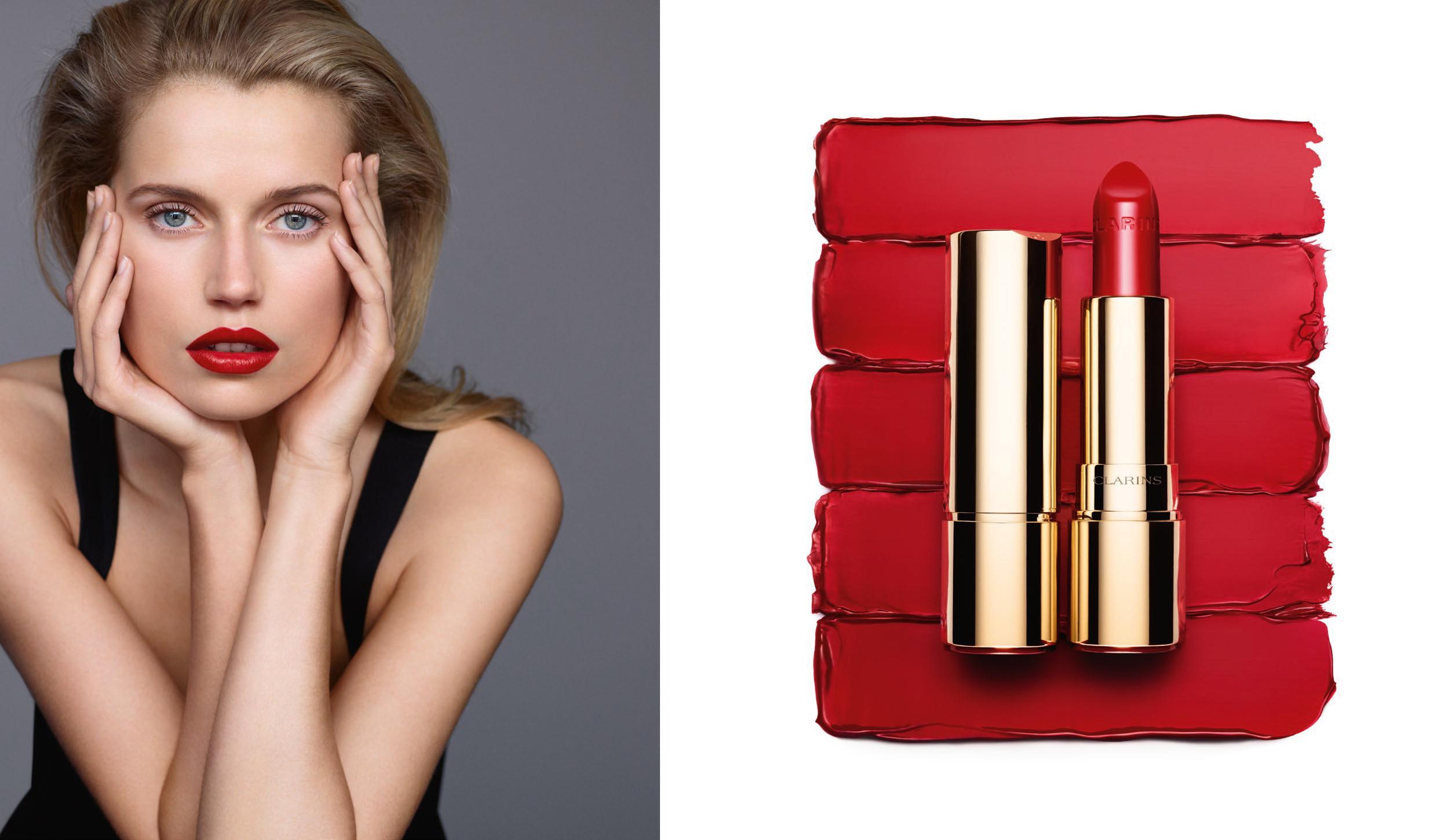 Joli Rouge modelo Clarins